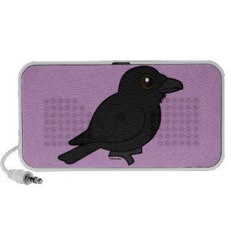 Birdorable Common Raven Notebook Speaker