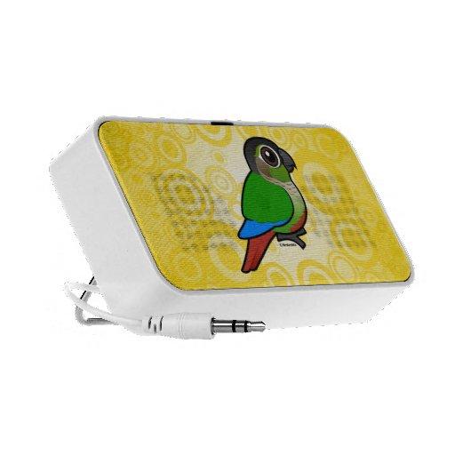 Birdorable Conure Verde-cheeked Altavoz De Viaje