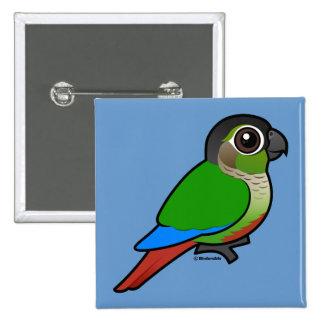 Birdorable Conure Verde-cheeked Pins