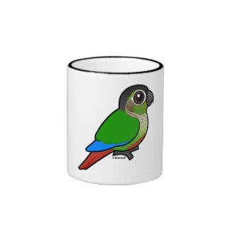 Birdorable Conure Verde-cheeked Tazas