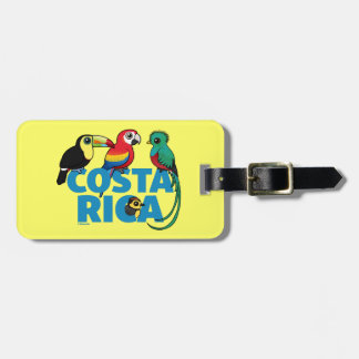 Birdorable Costa Rica Bag Tag