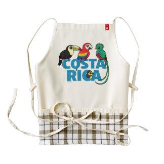 Birdorable Costa Rica Zazzle HEART Apron