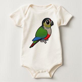 Birdorable Crimson-bellied Parakeet Baby Bodysuit