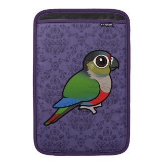 Birdorable Crimson-bellied Parakeet Sleeves For MacBook Air