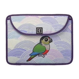 Birdorable Crimson-bellied Parakeet Sleeve For MacBook Pro