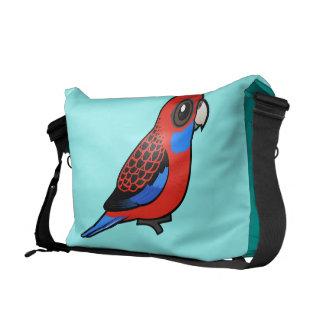 Birdorable Crimson Rosella Messenger Bag