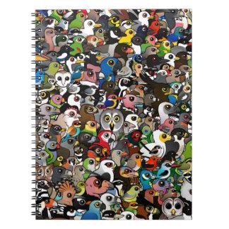 Birdorable Crowd Notebook