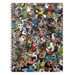 Birdorable Crowd Spiral Notebook