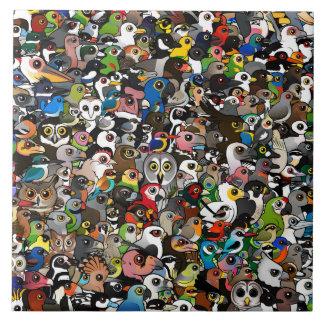 Birdorable Crowd Tile