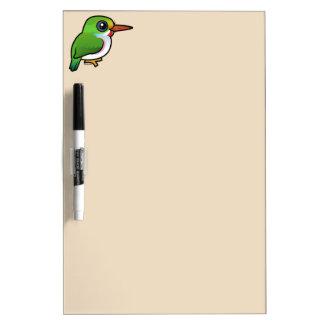Birdorable Cuban Tody Dry Erase Board