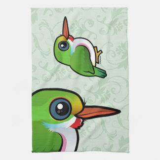 Birdorable Cuban Tody Towel