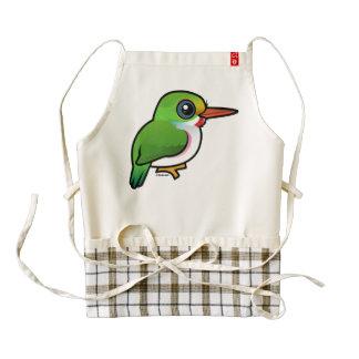 Birdorable Cuban Tody Zazzle HEART Apron