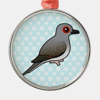 Birdorable Diamond Dove Metal Ornament