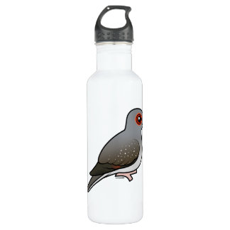 Birdorable Diamond Dove Water Bottle