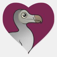 Dodo Heart Sticker