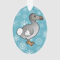 Dodo Oval Acrylic Ornament