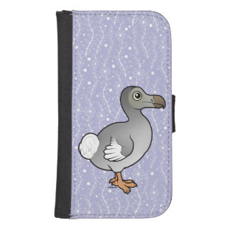 Birdorable Dodo Wallet Phone Case For Samsung Galaxy S4