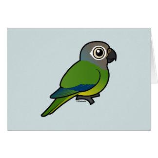 Birdorable Dusky-headed Conure Greeting Cards