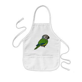 Birdorable Dusky-headed Conure Kids' Apron