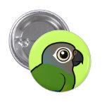 Birdorable Dusky-headed Conure Pinback Button