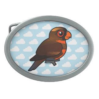 Birdorable Dusky Lory Belt Buckles