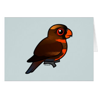 Birdorable Dusky Lory Card