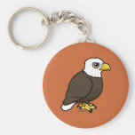 Birdorable Eagle calvo Llavero