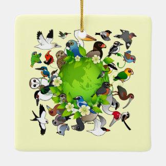 Birdorable Earth Day Ceramic Ornament