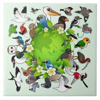 Birdorable Earth Day Tile