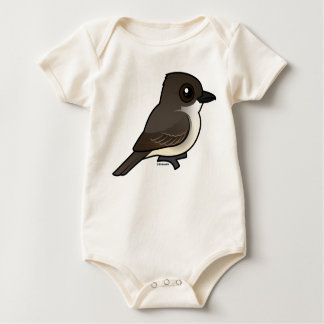 Birdorable Eastern Phoebe Baby Bodysuit
