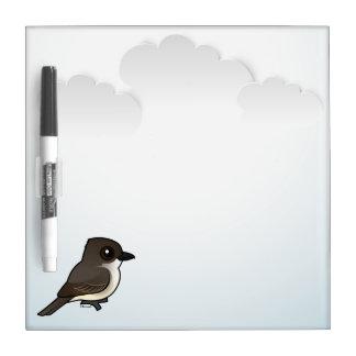 Birdorable Eastern Phoebe Dry Erase Board