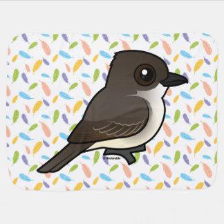 Birdorable Eastern Phoebe Swaddle Blanket