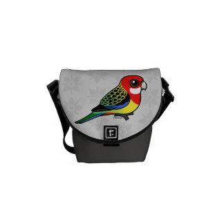 Birdorable Eastern Rosella Courier Bag