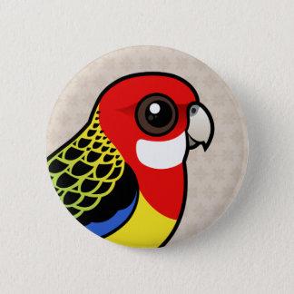 Birdorable Eastern Rosella Pinback Button