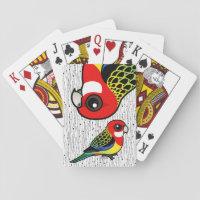 Eastern Rosella Playing Cards (Poker)