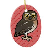 Birdorable Elf Owl Ceramic Ornament