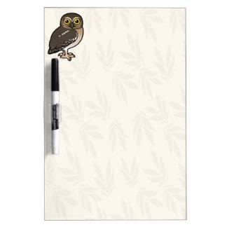 Birdorable Elf Owl Dry-Erase Board