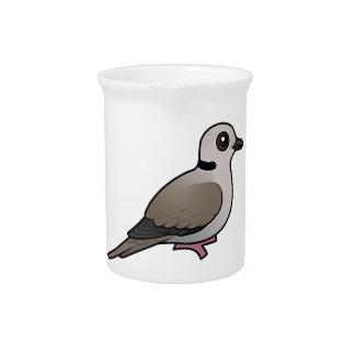 Birdorable Eurasian Collared Dove Drink Pitcher