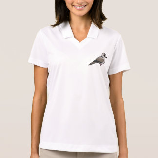 Birdorable Eurasian Collared Dove Polo Shirt