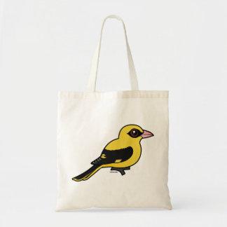 Birdorable Eurasian Golden Oriole Tote Bag