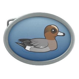 Birdorable Eurasian Wigeon Belt Buckles