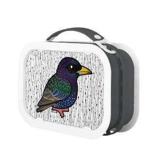 Birdorable European Starling Lunch Box