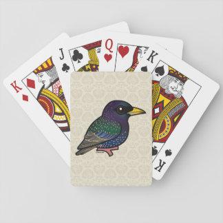 Birdorable European Starling Card Decks