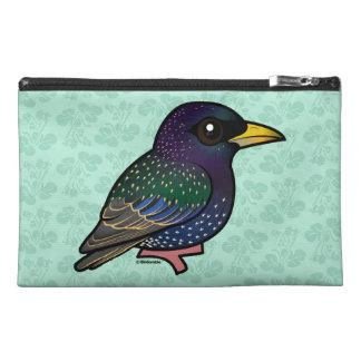 Birdorable European Starling Travel Accessory Bags
