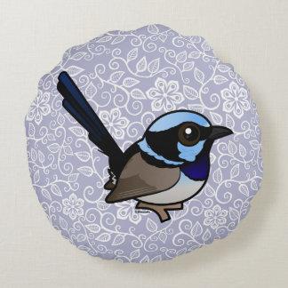 Birdorable Fairywren magnífico Cojín Redondo