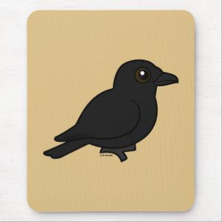 Birdorable Fish Crow Mouse Pad