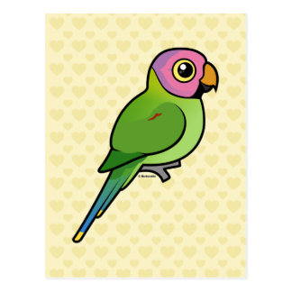 Birdorable Flor-dirigió el Parakeet Postales