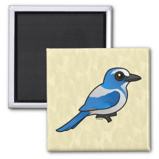 Birdorable Florida Scrub-Jay Fridge Magnets