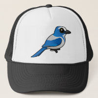 Florida Scrub-Jay Trucker Hat