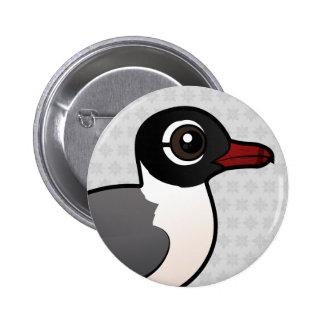 Birdorable Franklin's Gull Pinback Button